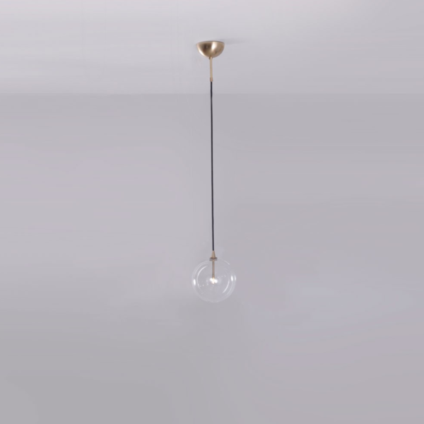 product image for GLASS GLOBE PENDANT 200