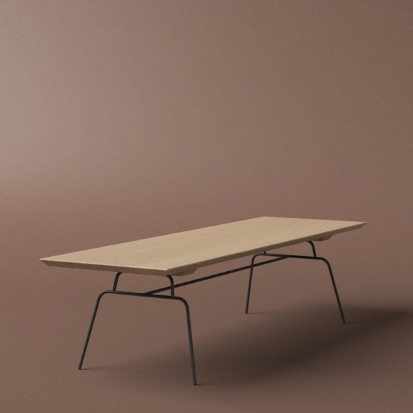 product image for Steel leg coffee table