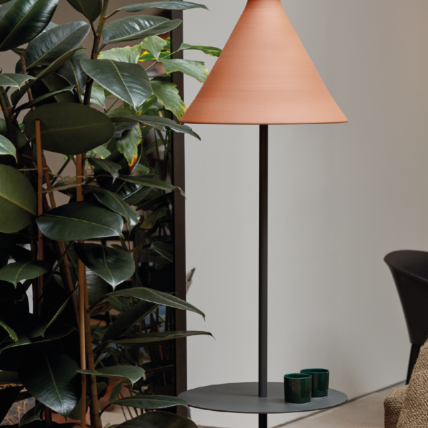 product image for TOTANA20/35 FLOOR LAMP WITH TABLE PLATFORM