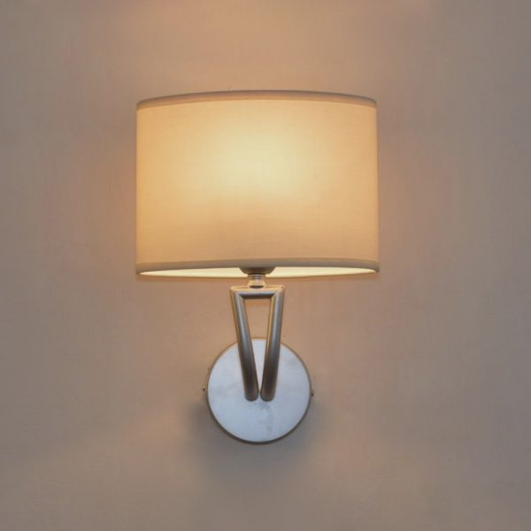 product image for SATIN SILVER WALL LIGHT