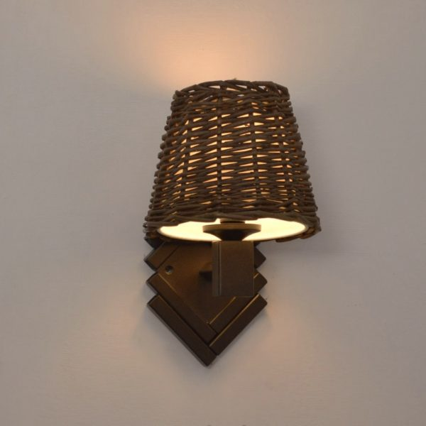product image for SINGLE ANTIQUE BRASS WALL LIGHT