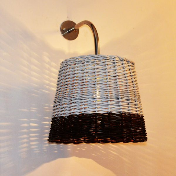 product image for OUTDOOR WICKER WALL LIGHT