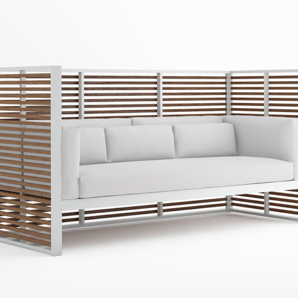 product image for DNA teak normando 3 seat sofa